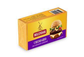 Сыр 50% плавленый ломтевой Crema Bianca Molendam 70г