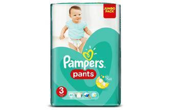 Подгузники-трусики Pampers Pants Размер 3 (Maxi), 6-11 кг 60шт