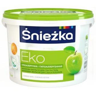 Фарба інтер'єрна матова ЕКО Снєжка 14 кг