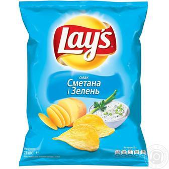 Чипсы картофельные Лейс 133 г