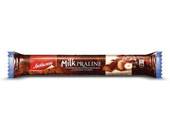 Шоколад «Любимов» з горіховим праліне, 38 г