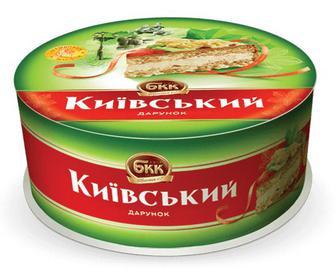 Торт БКК «Київський подарунок» з арахісом, 850г