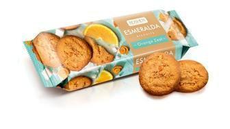 Печиво Есмеральда з цедрою апельсина 150г
