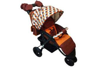 Дитяча коляска прогулянкова Babyhit Voyage Air Brown Oorange