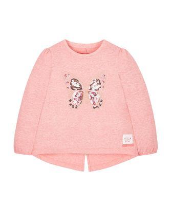 Рожевий топ з метеликом від Mothercare