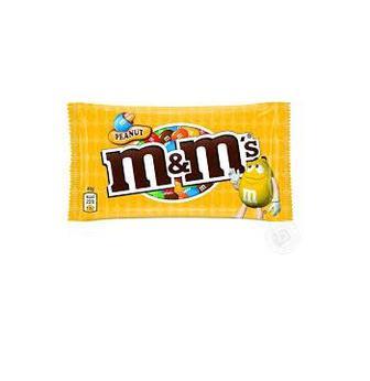 Драже M&M's MAXI с молочным шоколадом и арахисом, 90г