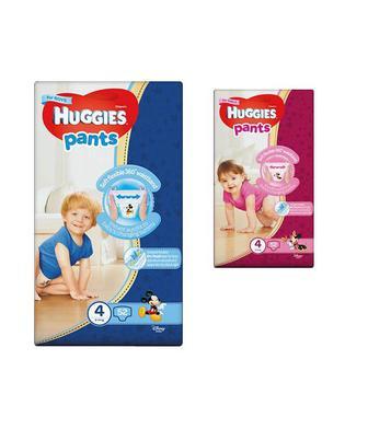 Підгузники-трусики для дівчаток та хлопчиків Хаггіс