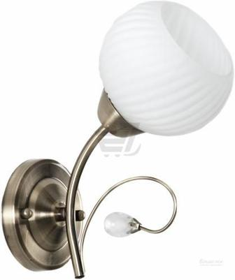 Бра Accento lighting VALENCIA 1x60 Вт E27 антична латунь ALDW-MB12846