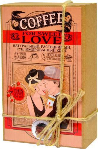 Скидка 20% ▷ Набір кавовий Shokopack For Sweet Love 50 г (4820194870632)