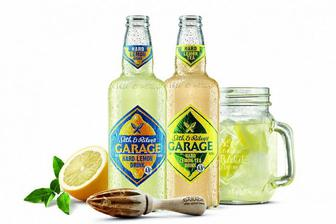 Пиво Hard Lemon або Hard Lemon Tea S&R Garage 0,44 л