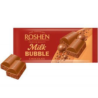 Шоколад Roshen пористий молочний 85г