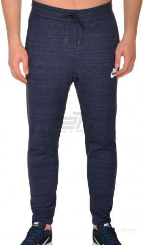 Штани Nike M NSW AV15 PANT KNIT 885923-451 р. S темно-синій