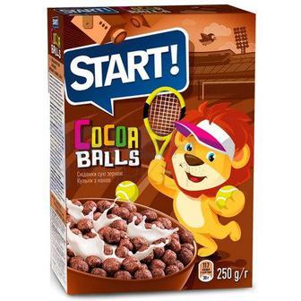Сухий сніданок Старт кульки какао дуо, Веселий Роджер 250г