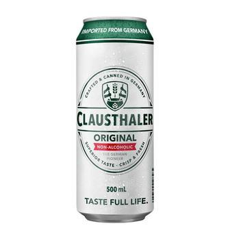 Пиво Clausthaler Original безалкогольное в жестяной банке 0.5л