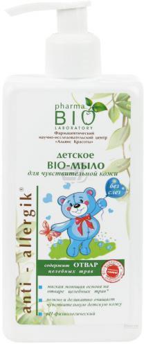 Дитяче мило Pharma Bio Laboratory для чутливої шкіри 250 мл