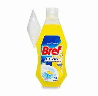 Освіжувач для туалету Bref Гель Дикий лимон