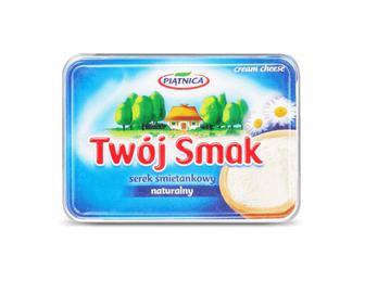 Сир Piatnica Twoj Smak вершковий 64% жиру натуральний, 135 г