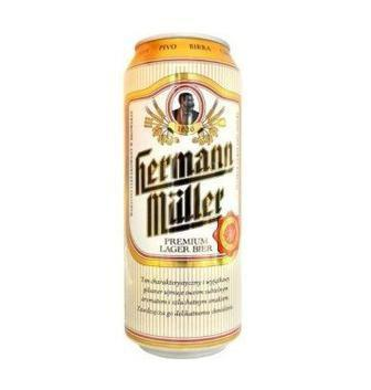 Пиво світле Herman Muller 0,5л