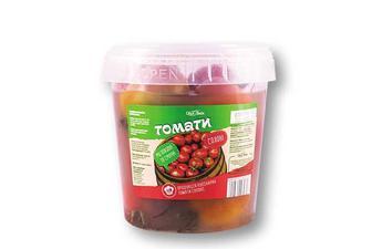 Помидоры соленые червоні Своя Лінія 1/0,6 кг
