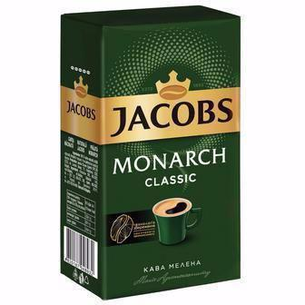 КАВА мелена Monarch Класичний, 230 г JACOBS