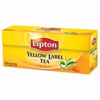 Чай Ліптон 25 пак