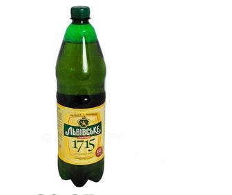 Пиво «Львовское 1715», 1.2л