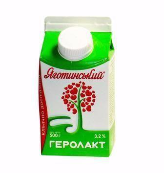 Напій к/м 3,2% Геролакт» Яготинський 500 г
