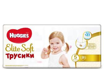 Підгузки-трусики Huggies Elite Soft 5 (12–17 кг) 38 шт