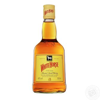 Виски Вайт Хорс 40%, 0,5 л, 0,7 л