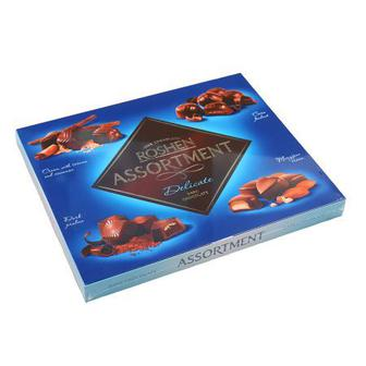 Цукерки Assortment молочний шоколад, Рошен, 145 г