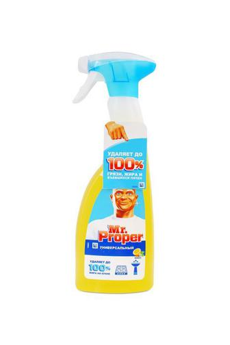Скидка 15% ▷ Засіб для миття універсальний Mr Proper Лимон спрей 500 мл