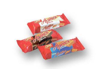 Вафлі Артек смак пломбиру/ смак шоколаду/ класичний Світоч 80 г