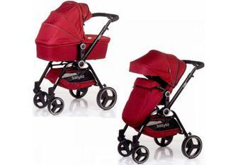 Дитяча коляска універсальна 2 в 1 Babyhit Cube Red