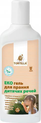 Гель універсал TORTILLA Еко для дитячих речей 0,5 л