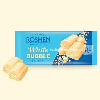 Шоколад пористий білий 85г