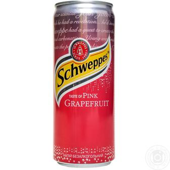 Напій безалкогольний  Schweppes  0.33 л