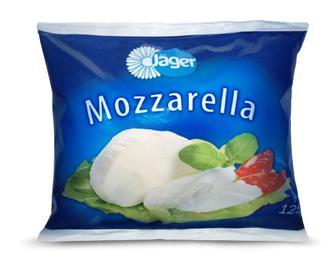 Сыр Jager Моцарелла из коровьего молока 45% 125г