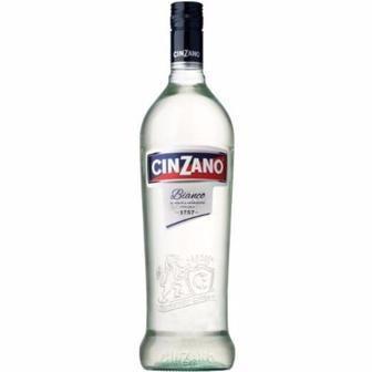 Вермут Bianco Cinzano 1л