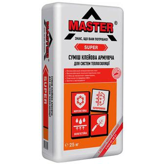 Клей для теплоізоляції Master Super вага: 25 к