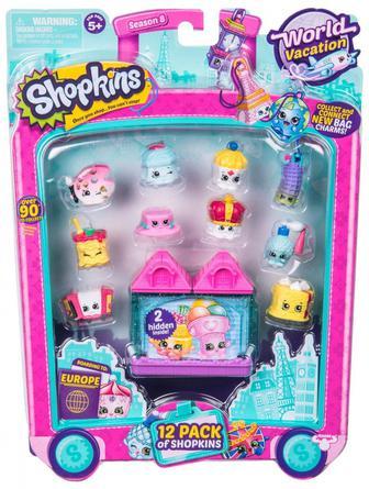 Набір фігурок Shopkins S9 серії 12 друзів Шопкінс