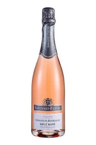 Вино брют Simonnet-Febvre Cremant de Bourgogne Brut Rose 0.75л