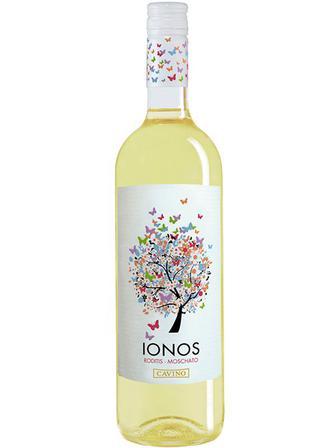 Вино Іонос , Ionos, Cavino,біле сухе 0.75л