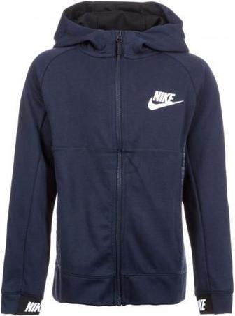 Джемпер Nike B Nsw Hoodie Fz Av15 856185-451 р. L темно-синій
