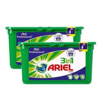 Засоби для прання порошок,рідкий засіб, гель-капсули Аріель