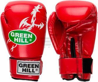 Боксерські рукавиці Green Hill Dragon BGD-2056210 червоний 12oz