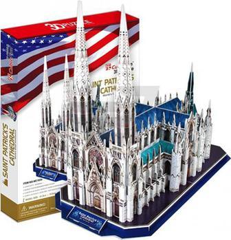 3D-пазл CubicFun США: Собор Святого Патрика MC103h