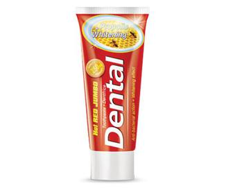 Паста зубна Dental Hot Red Jumbo Propolis Whitening, 250мл