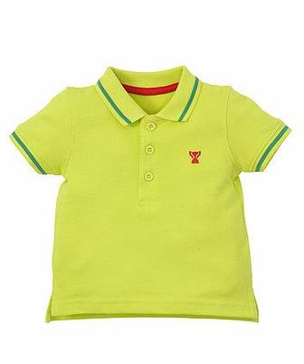 Зелена сорочка-поло від Mothercare