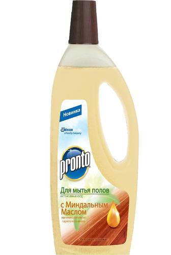Средство для мытья полов Pronto Интенсивный уход с миндальным маслом 750 мл