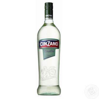 Вермут білий Bianco Cinzano 1л